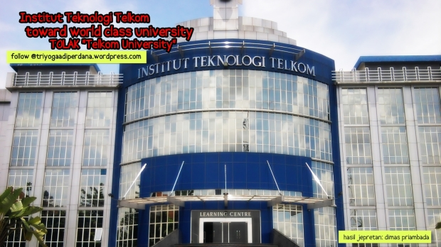 LC IT TELKOM - TOLAK UNIVERSITAS TELKOM