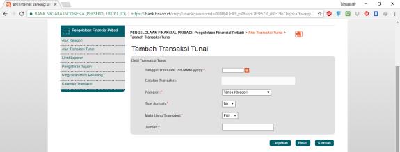 9. Pengaturan Transaksi