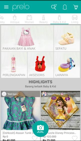 kategory baby and kids prelo