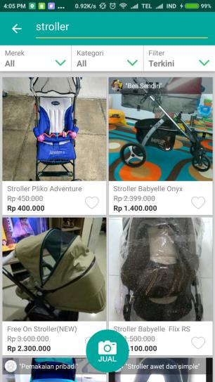 stroller prelo babyelle (1)