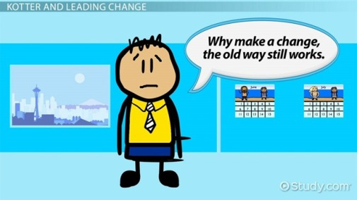 why make a change, the old way still works