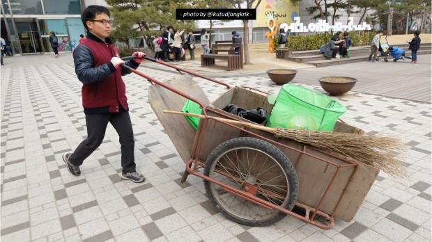 10. Gerobaknya di Korea Selatan