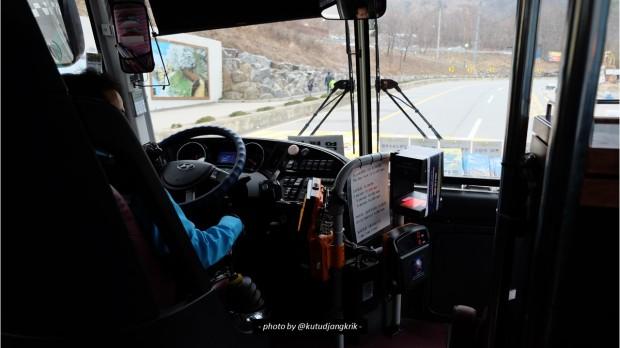 12. Pengemudi Bus di Korea Selatan