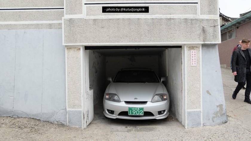 5. Tempat parkir di Korea Selatan