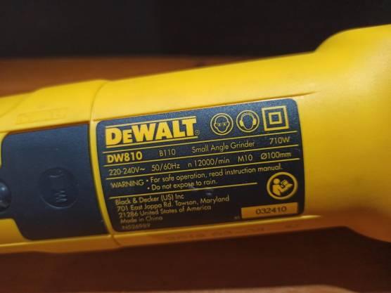 Dewalt DW810 - detail 2